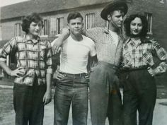 1952, Elvis and Friends in High School
