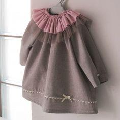 Vestido #bebe ecologico. Organic baby dress. www.kokorokotone.com