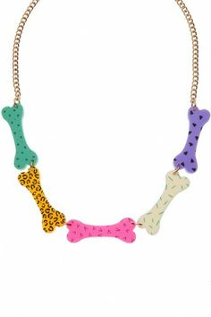 Tatty Devine Bones Necklace