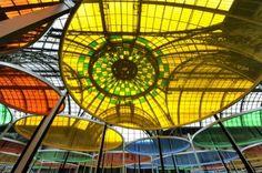 Monumenta 2012 - Daniel Buren @ Grand Palais, Paris. http://www.stiletto.fr/culture/lrexcentricite-monumenta-de-daniel-buren-9-935-56.html