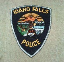 Idaho Falls Idaho Police Patch