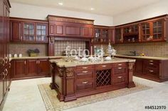 """Download the royalty-free photo """"Modern kitchen interior and furniture"""" created by zhu difeng at the lowest price on Fotolia.com. Browse our cheap image bank online to find the perfect stock photo for your marketing projects!"""
