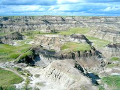 Drumheller was breathtaking and remote (2003)