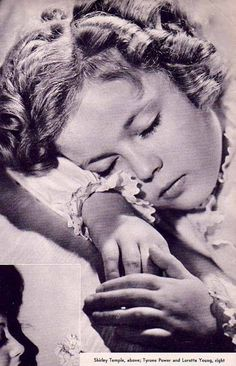 Shirley Temple, 1930s.