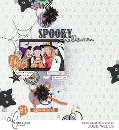 Layout: Spooky Halloween