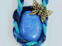 Wunderschöner, blauer Dumortierit