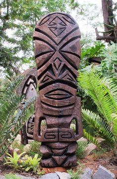 Tiki Objects by Bosko - Tiki Poles, Tiki Masks, Tiki Mugs and Tropical Gifts and wood carving, Witco