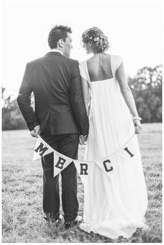 Trendy Wedding, blog idées et inspirations mariage ♥ French Wedding Blog: {Angélique ♥ Lénaïc} Joli mariage en Chablis