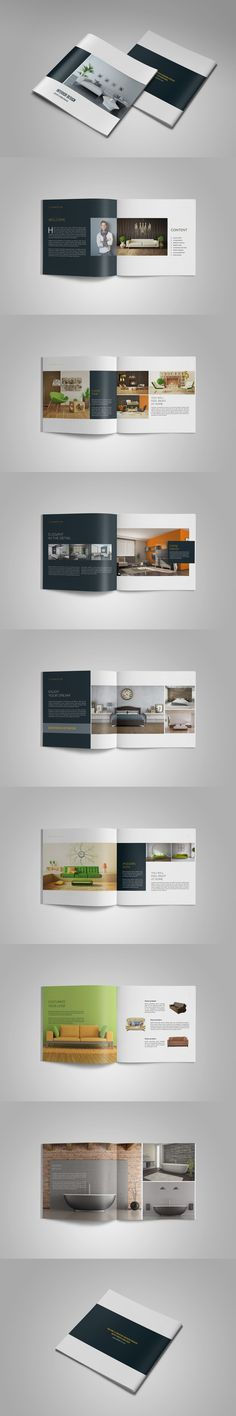 Minimal Multipurpose Catalogs / Portfolio / Brochure Template InDesign INDD