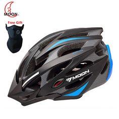 MTB Bike Cycling Helmet Ultralight Capacete Casco Ciclismo Para Bicicleta Women Men Road Cycling Bicycle Helmet Visor CE