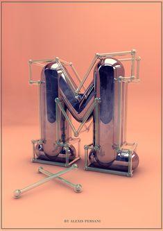 M - Creativ Alphabet - Alexis Persani ®