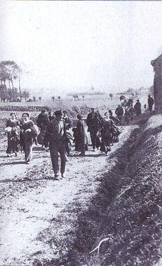 De eerste tekenen van oorlog in de BIE-regio
