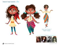 Costume and character explorations for Mira Forecasts the Future, written by Kell Andrews, Illustrated by Lissy Marlin Character Design Girl, Character Design Inspiration, Character Concept, Character Art, Concept Art, Girls Characters, Cartoon Characters, Character Illustration, Illustration Art