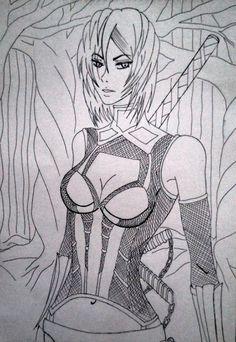 My original character, Yume Matsushita