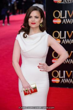 Hayley Atwell Olivier Awards 2014 held at the Royal Opera House http://www.icelebz.com/events/olivier_awards_2014_held_at_the_royal_opera_house/photo35.html
