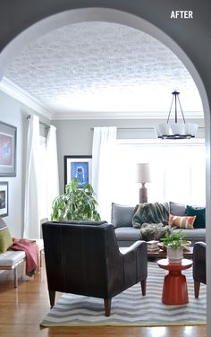 Before + After Living Room Transformation | west elm