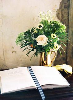 Romantic Irish Wedding Inspiration  Read more - http://www.stylemepretty.com/destination-weddings/2014/03/17/romantic-irish-wedding-inspiration/