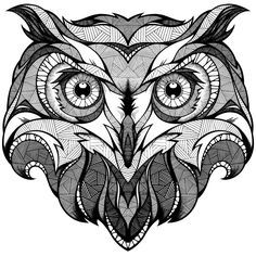 owl abstract design - Google zoeken                                                                                                                                                                                 Más