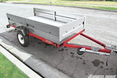 View 1205 4wd 02+economical Off Road Trailer Build Part 2+harbor Freight 4x8 Foot Utility Trailer Kit - Photo 40449501 from Economical Off-Road Trailer Build: Part II