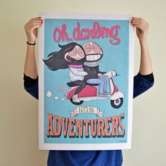 Custom posters on Behance