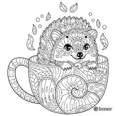 1032 Best Adult Coloring Pages\ Animals images in 2019 | Coloring ...