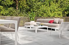 Carmel Outdoor Chair - Carmel Chair - Crescent Collection in Slate and Graphite - Outdoor - Room & Board