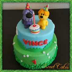 Woezel en Pip taart by Sweet Cakes