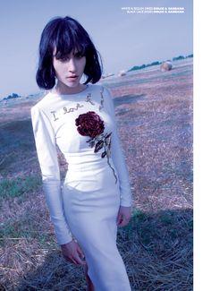 Bloom for Prestige International I Styled by Allegra Ghiloni I Fashion Editorial I Floral Fashion