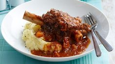 Slow Cooked Lamb Shanks. #IQS #sugarfree #Paleo