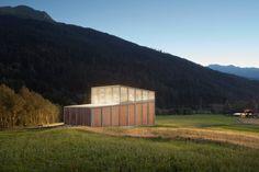 Cangemi Architekten, Ralph Feiner · Ragn d'Err Hydropower Plant