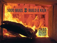 Chad Brown's 1000 mugs to build a kiln in Seagrove, North Carolina