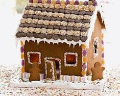 Put some time aside to indulge in Rachel Allen's impressive, sweet gingerbread house and you'll have a great christmas centrepiece