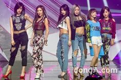 Browse T-ara's pictures from their 'Sugar Free' comeback on M!Countdown ~ T-ara World ~ 티아라