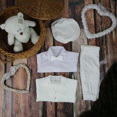 Special Occasion Boys Outfit White – BabyUniqueCorn