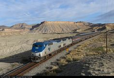 RailPictures.Net Photo: AMTK 11 Amtrak GE P42DC at Thompson Springs, Utah by Michael Harding