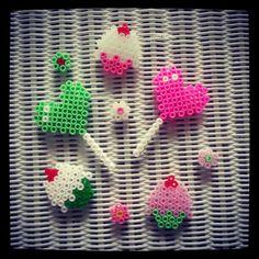 Strijkkralen - Yummy perler bead crafts by Corien