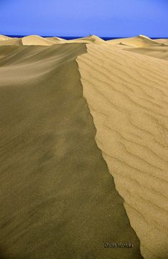 Dunes at Maspalomas, Canary islands - Spain Grand Canaria... World Class - Most Exclusive... http://biguseof.com/travel