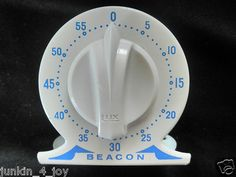 Vintage Robertshaw Lux Beacon Timer Egg Timer, Kitchen Timers, Plates, Antiques, Tableware, Ebay, Vintage, Licence Plates, Antiquities