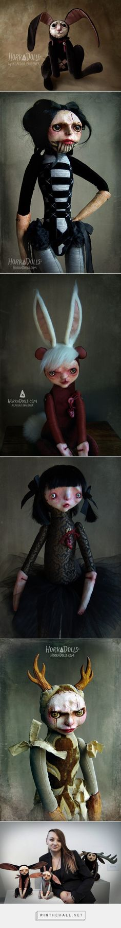 HORKA DOLLS - Art dolls sculptures