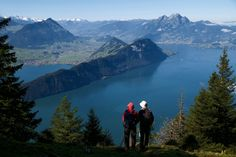 The Most Romantic Places in the Alps Lake Lucerne Switzerland, Switzerland Tourism, Lake Mountain, Mountain Resort, Belle Epoque, Lakeside Resort, Tourist Office, Most Romantic Places, Seen
