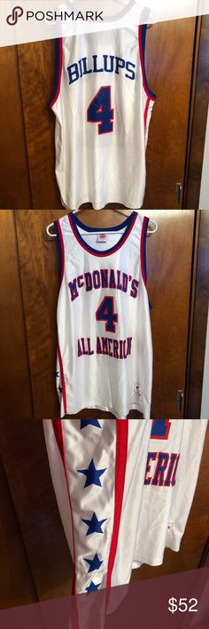 be55f59f2 Chauncey Billups all American jersey Throwback Chauncey Billups McDonald s  All American basketball jersey No flaws Like new Men s XL Shirts Tees -  Short ...