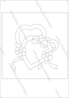 酸奶_新浪博客 Embroidery Hearts, Ribbon Embroidery, Embroidered Quilts, Applique Quilts, Embroidery Transfers, Embroidery Designs, Applique Patterns, Quilt Patterns, Japanese Patchwork