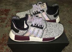 Gucci x adidas NMD R1 Triple White Black Moor Customs
