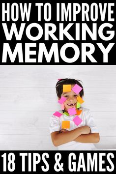 Don't forget! 18 working memory games and strategies for kids Don't forget! 18 working memory games and strategies for kids. Activities For Adults, Therapy Activities, Learning Activities, Kids Learning, Dyslexia Activities, Baby Activities, Concentration Games, Working Memory, Organization Skills