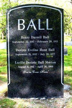 Lucille Ball ( Aug 6,1911 - April 26, 1989)