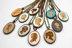 Perfect stocking stuffer for a mom! Order a Personalized Cameo Pendant from Once Again Sam- locally made in Greenville, SC! Shop small!