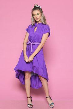 Rochie SILVANA M - Mathilde High Low, Women's Fashion, Dresses, Summer, Vestidos, Fashion Women, Summer Time, Womens Fashion