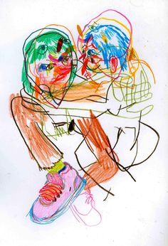 (neverbrushmyteeth: hugging really close and tight. Psychedelic Art, Illustrations, Illustration Art, Graphic Design Illustration, Art Hoe, Grafik Design, Art Plastique, Aesthetic Art, Art Sketchbook
