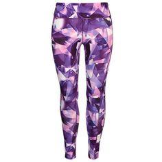 USA Pro Leggings ($31) ❤ liked on Polyvore featuring pants, leggings, legging pants, purple pants, usa pro and purple leggings