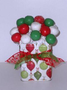 84 Best Christmas Cake Pops Images Christmas Cake Pops Xmas
